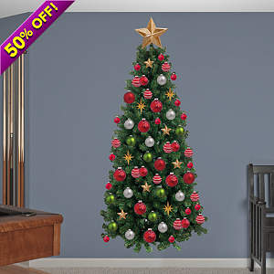 Christmas Tree Fathead Wall Decal