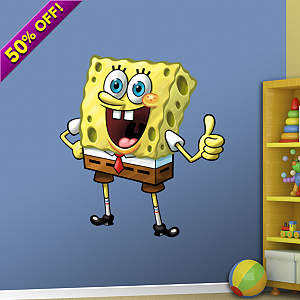 SpongeBob SquarePants Fathead Wall Decal