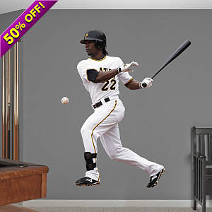 Vinyl Mural Wall Decal of Andrew McCutchen