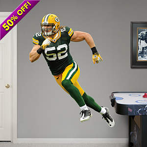 Clay Matthews - No. 52 Fathead Wall Decal