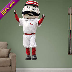 Cincinnati Reds Mascot - Mr. Redlegs Fathead Wall Decal