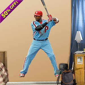 Ryan Howard Throwback Fathead Wall Decal