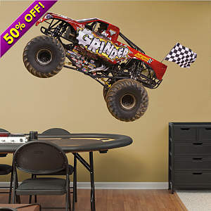 Advance Auto Parts Grinder Fathead Wall Decal
