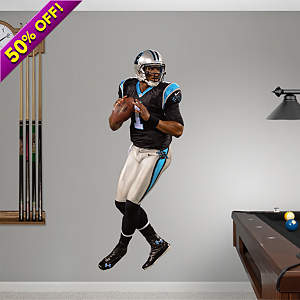 Cam Newton - Quarterback Fathead Wall Decal
