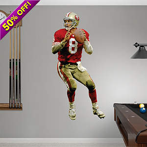 Steve Young Fathead Wall Decal