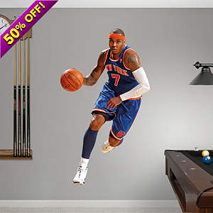 Carmelo Anthony Fathead Vinyl Wall Decal