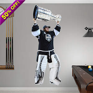 Jonathan Quick Stanley Cup  Fathead Wall Decal