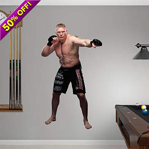 Brock Lesnar Fathead Wall Decal