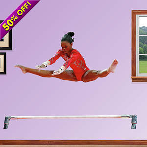 Gabby Douglas - Bars Fathead Wall Decal