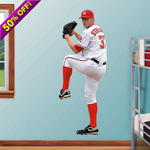 Stephen Strasburg Fathead Wall Decal
