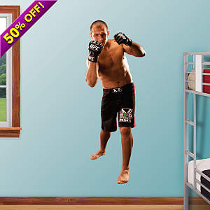 Junior Dos Santos Fathead Wall Decal