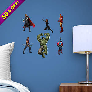 The Avengers Team Set Fathead Decal