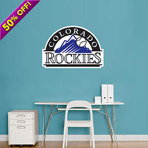 Colorado Rockies Logo Fathead Wall Decal