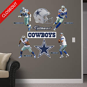 Dallas Cowboys Power Pack - 2013 Fathead Wall Decal