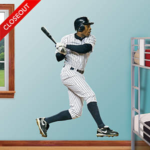 Curtis Granderson - At Bat Fathead Wall Decal