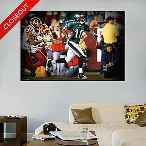 DeSean Jackson In Your Face Mural Fathead Wall Decal