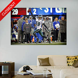 DeSean Jackson Return - In Your Face Mural Fathead Wall Decal