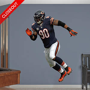 Julius Peppers  - Home Fathead Wall Decal