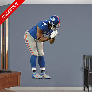 Justin Tuck  Fathead Wall Decal