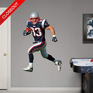 Wes Welker Fathead Wall Decal