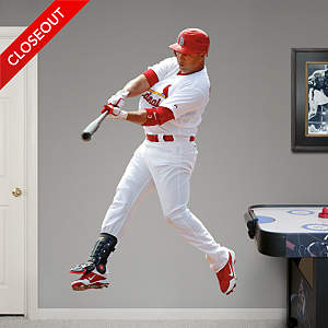 Carlos Beltrán Fathead Wall Decal