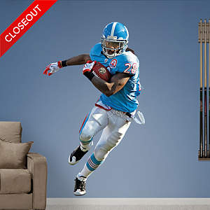 Chris Johnson AFL Fathead Wall Decal