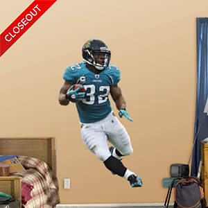 Maurice Jones-Drew Running Back Fathead Wall Decal