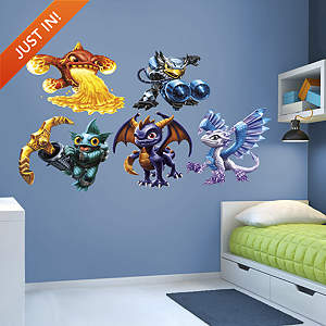 Skylanders Core Collection Fathead Wall Decal