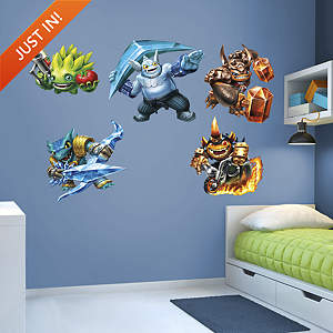 Skylanders Trap Team Collection Fathead Wall Decal