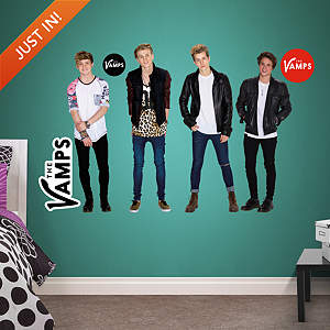 The Vamps Collection Fathead Wall Decal
