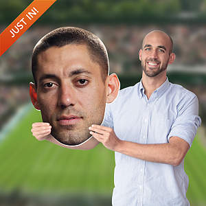 Clint Dempsey Big Head Cut Out