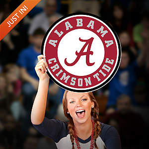 Alabama Crimson Tide Logo Big Head Cut Out