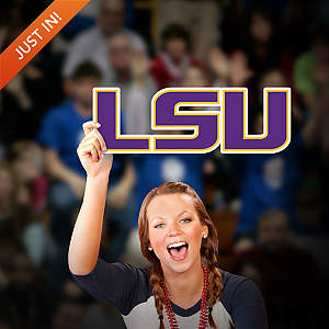 LSU Tigers Logo Big Head Cut Out