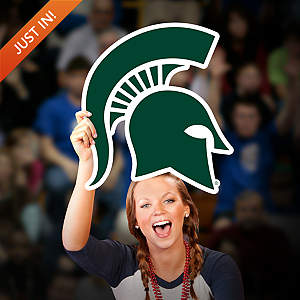 Michigan State Spartans Logo Big Head Cut Out