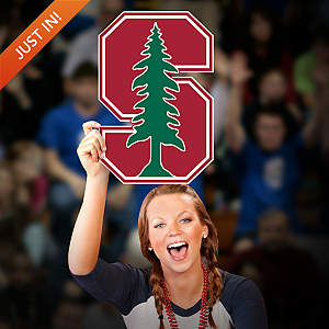 Stanford Cardinal Logo Big Head Cut Out