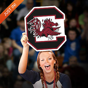 South Carolina Gamecocks Logo Big Head Cut Out