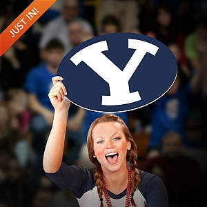 BYU Cougars Logo Big Head Cut Out