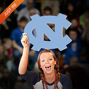 North Carolina Tar Heels Logo Big Head Cut Out
