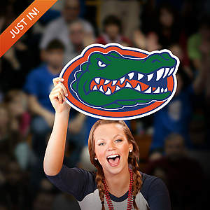 Florida Gators Logo Big Head Cut Out