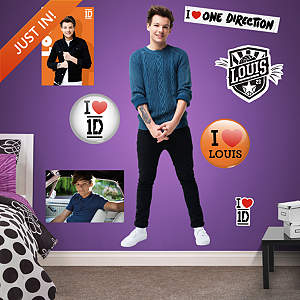 Louis Tomlinson: 1D Fathead Wall Decal