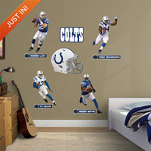 Indianapolis Colts Power Pack Fathead Wall Decal
