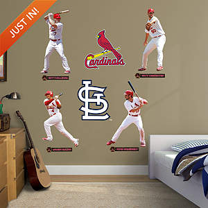 St. Louis Cardinals Power Pack Fathead Wall Decal