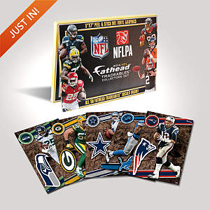 NFL 2014 Tradeables Collectors Set Fathead Decal
