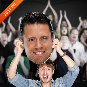 The Miz Big Head Cut Out