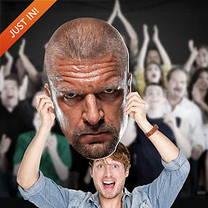 Triple H Big Head Cut Out