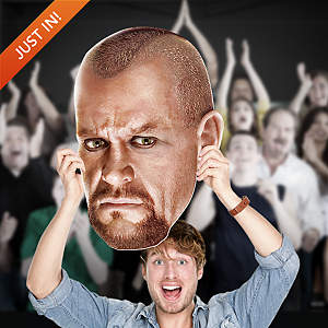 Undertaker Big Head Cut Out