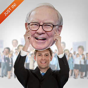 Warren Buffett Big Head Cut Out