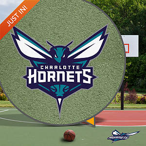 Charlotte Hornets Street Grip Outdoor Graphic