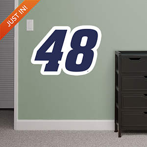 Jimmie Johnson Blue #48 Logo - Fathead Jr Fathead Wall Decal