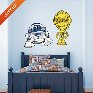 C-3PO & R2-D2 POP! Fathead Wall Decal